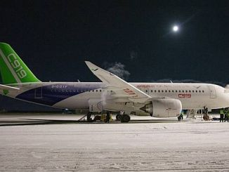 civil plane successfully completed cold weather tests