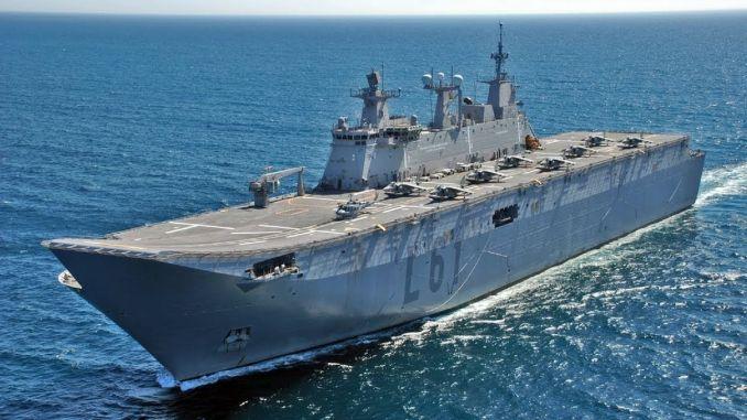 Our multi-purpose amphibious attack ship tcg anatolia will be put into service soon