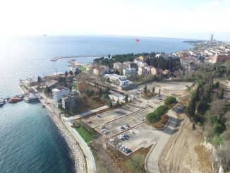 The darica beach car park has come to an end