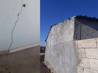 Dynamite used for the railway line in diyarbakir mardin damaged houses