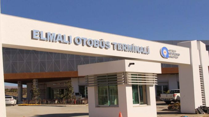 elmali bus terminal is ready for emergency