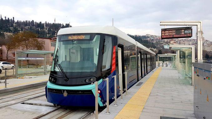 eminonu alibeykoy tram line is opened eminonu alibeykoy tram stops and map
