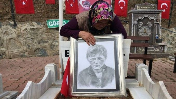 a prayer from the mother of eren bulbul to the mehmetciks who participated in the melting operations