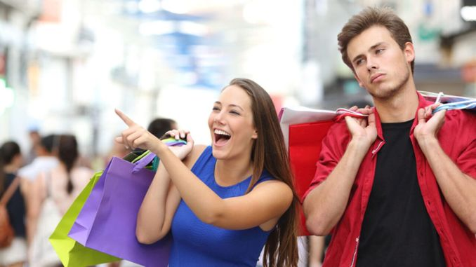 Why don't men like to shop from the store