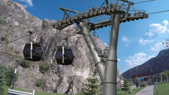 Ferhat dagi cable car project will make the top of Amasya