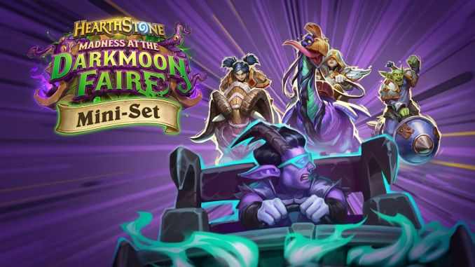 hearthstone darkmoon races begin
