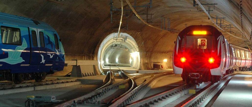 Tỷ lệ trợ cấp TL được phân bổ cho các dự án tàu điện ngầm istanbul