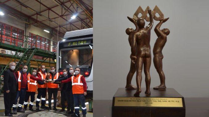 Award of excellence to Izmir metro