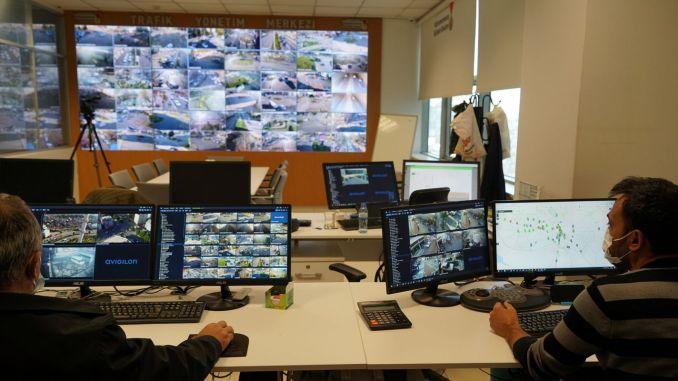 Kahramanmaras traffic management center is in service