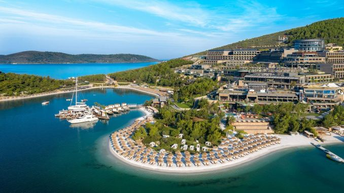 lujo hotel bodrum waste management project entitled to a zero waste certificate