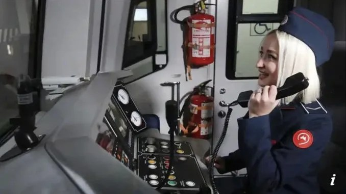 Reply from imamogl to the first female mechanic news in moscow metro