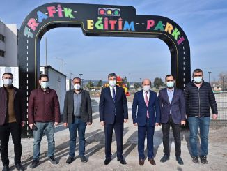 A special traffic education park was built for children in Osmaniye.