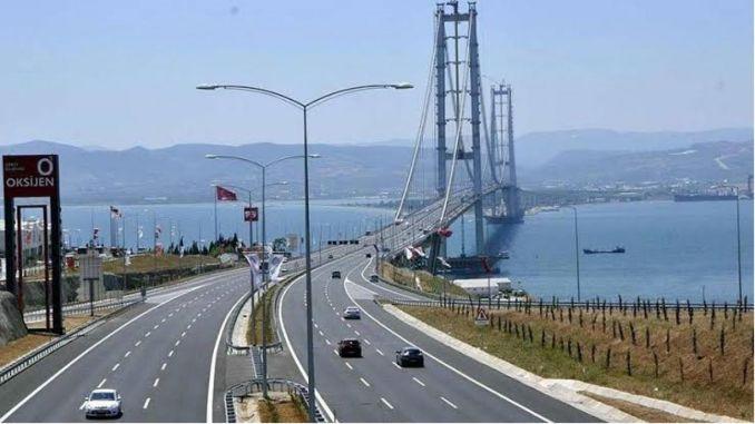 Average percentage increase in highway and bridge crossing fees