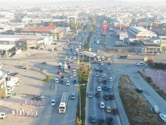 A two-bridge intersection will be built on sasmaz industrial boulevard