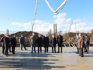 The foundations of the Salcano bicycle factory to be established in Tekirdag were laid.
