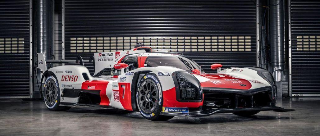 Toyota Gazoo Racing Gr Hybrid Hyper Race Vehicle təqdim edir