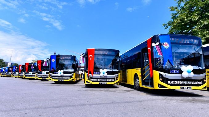 Those who do not have an account code from February in Trabzon will not be able to benefit from public transport