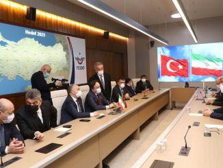 turkey and Iran meet representatives of the railways was ankarada