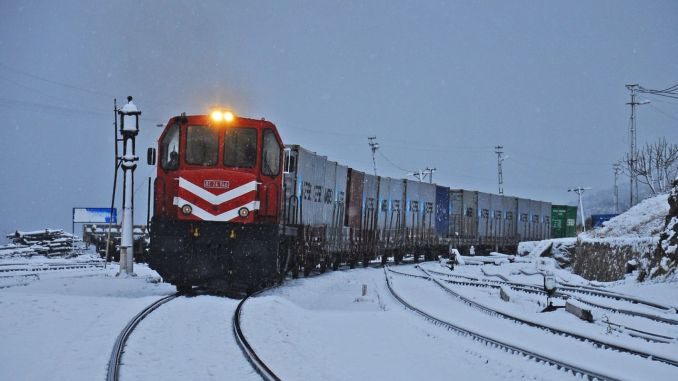 First exports to Belarus to train tomorrow turkiyede ankara guard will hit the road