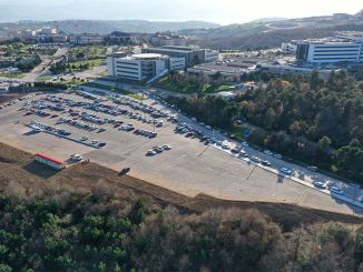 The environment was arranged in the umuttepe parking lot