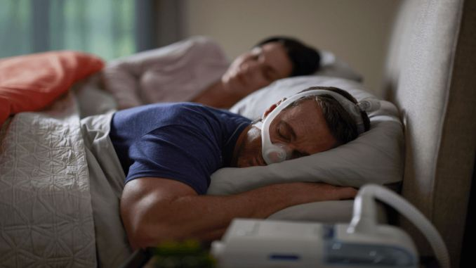 What is the current value in the sleep apnea report