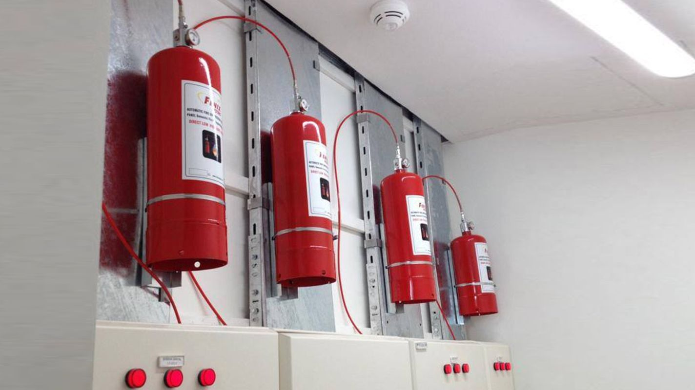 purchase and installation of fire alarm and extinguishing systems