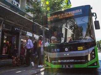Weekend Bus Line Will Work For ALES In Denizli