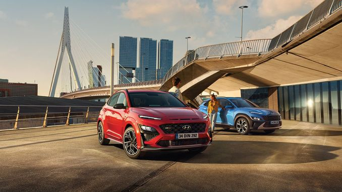 Hyundai KONA Adds Power to Its Power with Horsepower