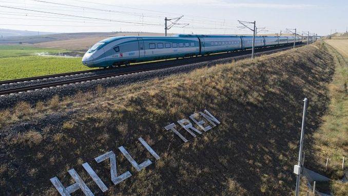 adana gaziantep high-speed train project construction work final face
