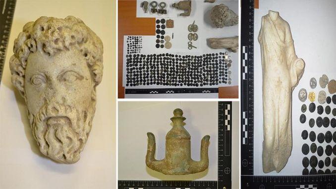 mga artifact sa kasaysayan gikan sa Anatolia nga nag-hijack sa pagkuha dugang nga turkiyeye
