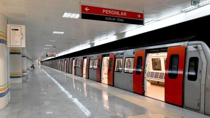 ankara subat street exit ban bus ankaray and metro timetable