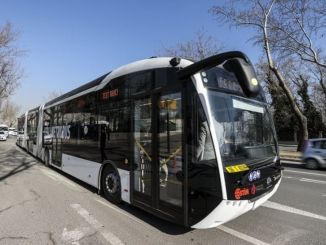 bozankayas domestic electric metrobus travels kilometers with a single charge
