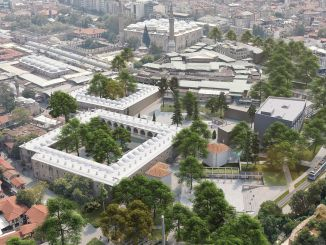 the winners of the urban design project of bursa inns area carsibasi determined