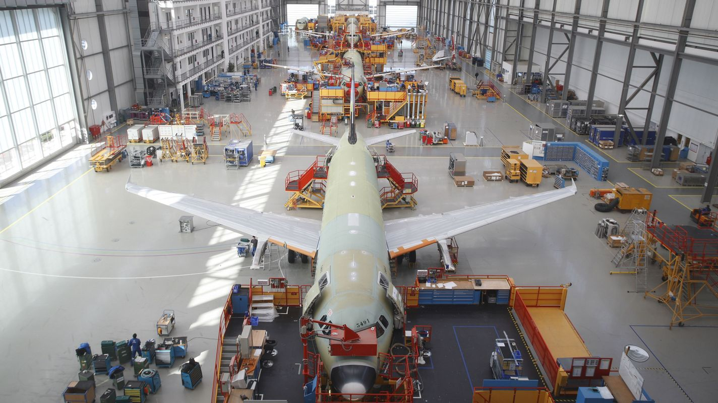 Ceva logistics signs airbus manufacturing supply contract in hamburg