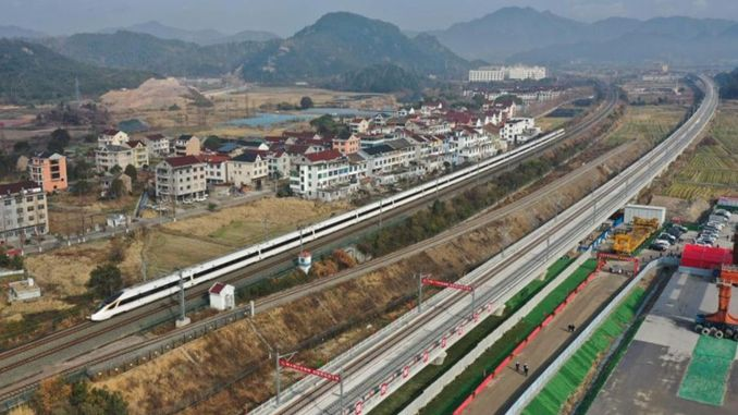 Will increase the Chinese railway network to one thousand km, the number of airports