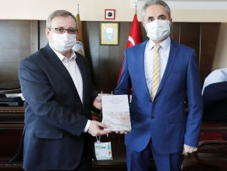 Cuốn sách về các dự án đường tàu điện Edirne đã được xuất bản