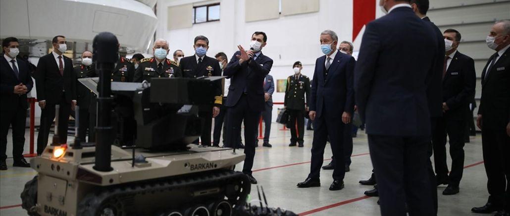 Le véhicule terrestre sans pilote de la classe moyenne de Havvel a été montré pour la première fois