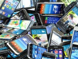 standard untuk telefon bimbit terpakai