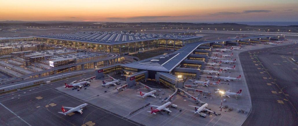 internationales Zertifikat für das Kohlenstoffmanagement des Flughafens Istanbul