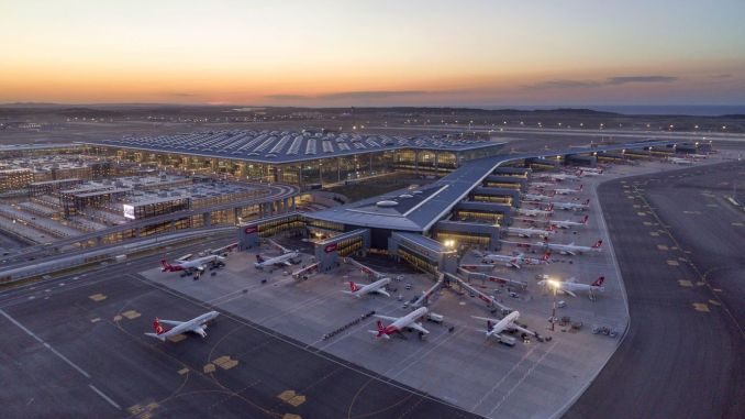 international certificate for carbon management of istanbul airport
