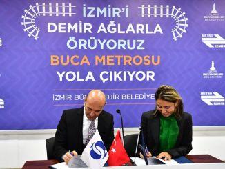 Explanation about ucyol buca metro project from izmir buyuksehir