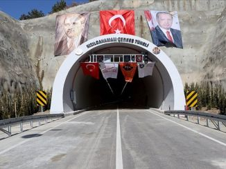 Travel time will be reduced from minute to minute with Kizilcahamam Cerkes Tunnel