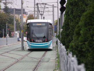 Tuyến xe điện bệnh viện thành phố Kocaeli sẽ hoàn thành sau một năm