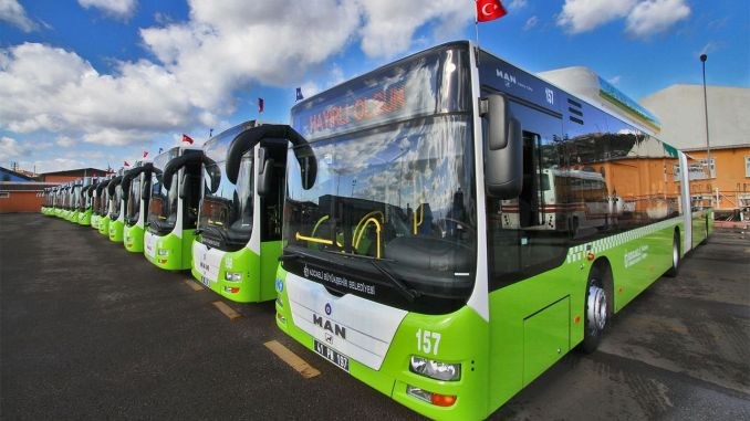 There will be additional bus services in Kocaeli on the weekend for ales