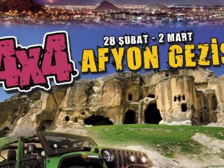 off road enthusiasts meet in afyonkarahisar