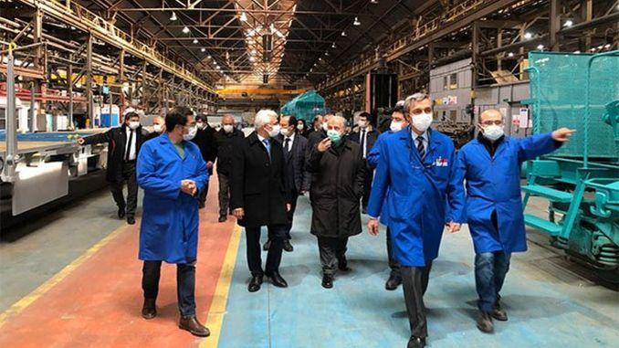 pezuk turasas在埃斯基謝希爾工廠進行了觀察