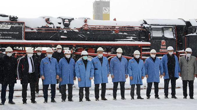Η pezuk turasas έκανε εξετάσεις στο εργοστάσιο παραγωγής βαγονιών