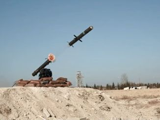 delivery of tskya omtas anti-tank missile system from roketsan