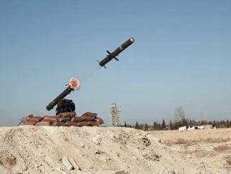 מסירת מערכת טילים נגד טנקים של טסקיה מרוקטסן