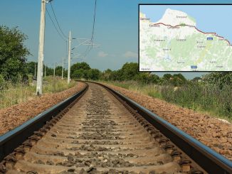 Why was Samsun army railway project canceled?